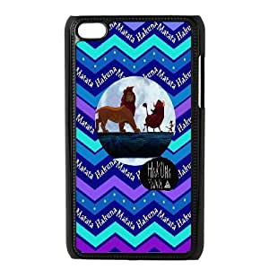 JamesBagg Phone case Hakuna Matata-Lion King quotes series protective case cover FOR IPod Touch 4 C-HKN94123