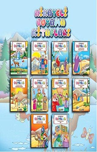 Hikayeli Boyama Kitaplari 10 Kitap Takim Kolektif 9786054620463
