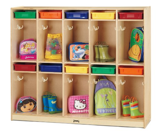 Jonti-Craft 6679JC Take Home Center with Colored Paper-Trays
