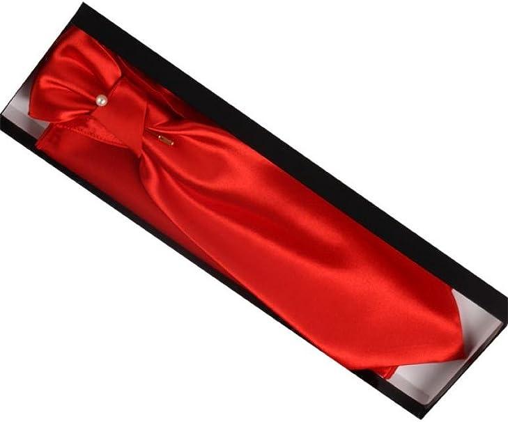 Dymastyle - Corbata - para hombre Red Hermes Talla única: Amazon ...