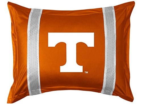 University of Tennessee Pillow Sham with Jersey Mesh