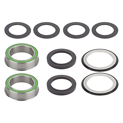 Wheels Manufacturing BB86 to 386 Evo Sealed Bearings 30-100mm Alloy Bike Pack Accessories ()
