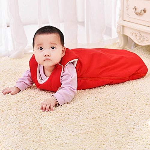 Gentlecarin Toddlers Sleepsack Swaddle,4 Seasonfor 0-36 Months Warm Cotton Baby Sleeping Bag 85cm