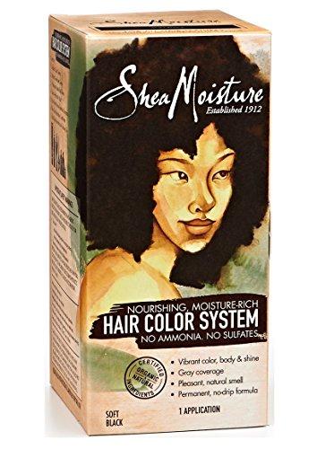 Shea Moisture Hair Color Black