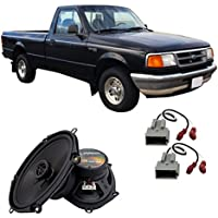 Fits Ford Ranger 1994-1997 Front Door Factory Replacement Harmony HA-R68 Speakers New
