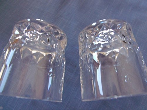 Cristal d'Arqies by W.M. Dalton Unit No. 6 Cherbourg 2 Old Fashioned Glases