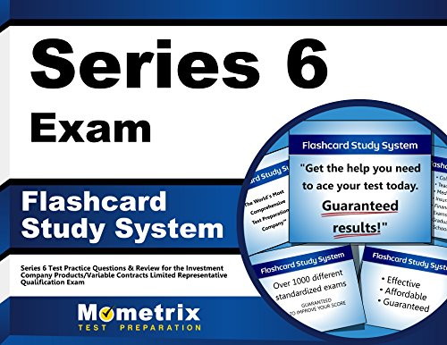 Series 6 Exam Flashcard Study System: Series 6 Test Practice Questions & Review for the Investment Company Products/Variable Contracts Limited Representative Qualification Exam (Cards)