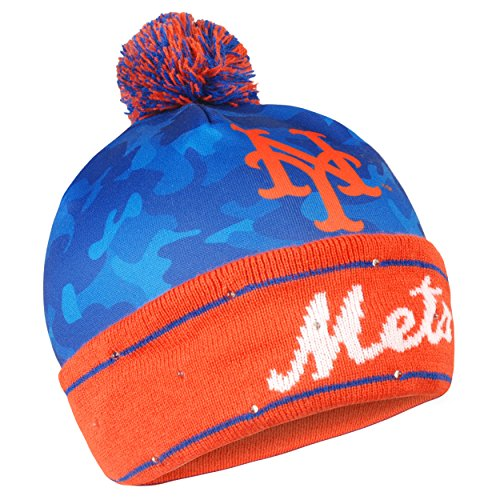 Forever Collectibles MLB New York Mets Camo Light up Knit Hat -