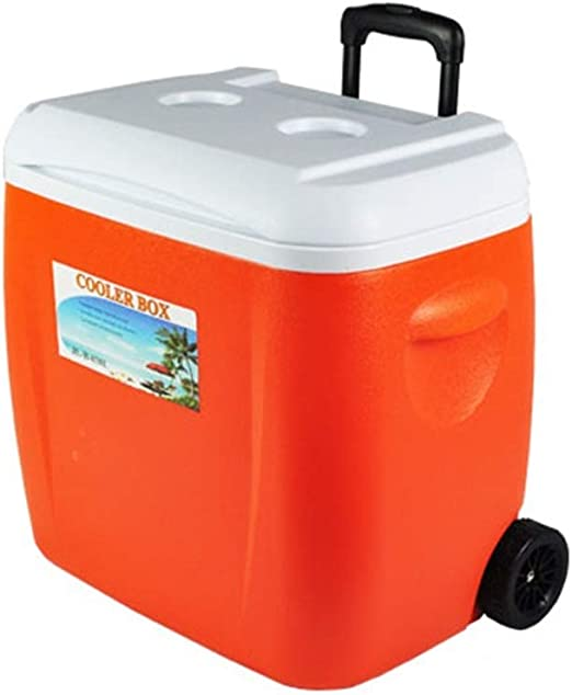 38L Cooler Box con Ruedas, Multifunción Hogar PU Freezer Al Aire ...