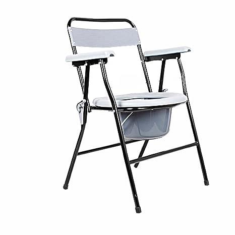 Ali Silla de la silla con mancuernas mujeres embarazadas mayores que doblan baño de tocador móvil