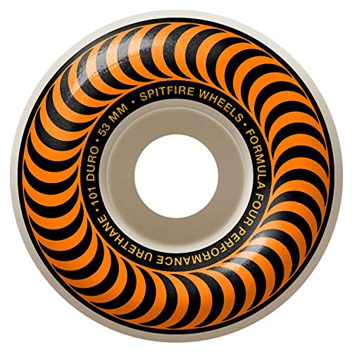 Spitfire F4 101D Classics Skateboard Wheels - 53mm (53mm Wheels Spitfire)