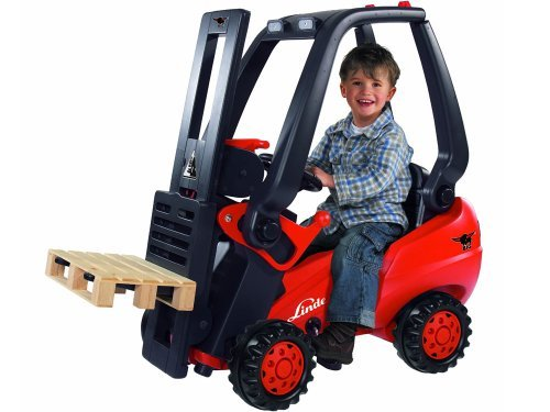 Linde Forklift Kid's Ride on Toy for sale  Delivered anywhere in USA