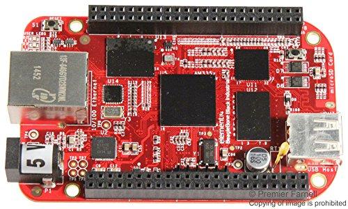 BBONE-BLACK-IND-4G - Single Board Computer, BeagleBone Black Industrial, AM3358BZ MCU, 2 x 64 Digital I/O, Ethernet (BBONE-BLACK-IND-4G)