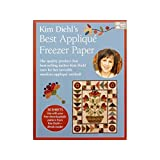Taunton Press TPP Applique 8.5x11 30pc KDiehl Best Freezer Paper