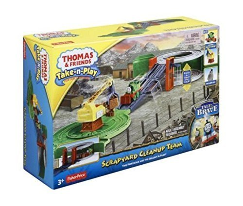 Thomas and Friends Take N Play Scrapyard Cleanup Team Inspired by the DVD