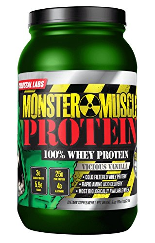 ⧫ Whey Protein Powder 10 Lbs Colossal Labs Monster Muscle...
