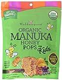 Wedderspoon Organic Manuka Honey Pops for Kids, Variety Pack, 24 Count, Unpasteurized, Genuine New Zealand Honey, 100% RDA Vitamin C
