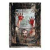 Fun Express Zombie Window Backdrop Banner