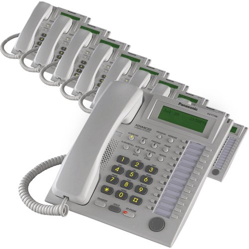 - Panasonic KX-T7736 Corded Telephone White (10 Pack)