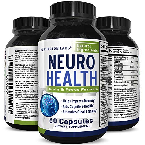 Mind Enhancing Supplement - Improve Memory Boost Brain Power Enhance Mental Clarity - Pills with Best Top Natural Vitamins for Better Cognitive Function Concentration Focus (Best Supplements For Alzheimer's)