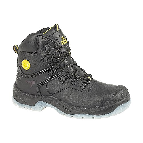 Male - Amblers Steel FS198 Safety Boot Black Size UK 12 EU 47 US 12.5