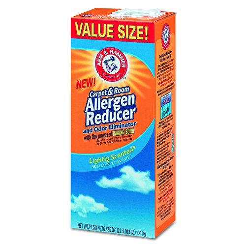 Arm & Hammer CDC 33200-84113 CDC3320084113CT Carpet for Room Allergen Reducer and Odor Eliminator, 42.6 oz. Box (Pack of 9) - Room Allergen Reducer