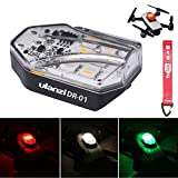 DR-01 ULANZI Drone Light for DJI Marvic 2 Pro Night Fly Visible RGB Drone Accessories, 3 Mode Anti-Collision Strobe Lighting 250mAh Rechargeable