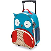 Skip Hop Zoo Kid Rolling Luggage, Owl