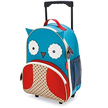 Skip Hop Kids Luggage With Wheels Owl