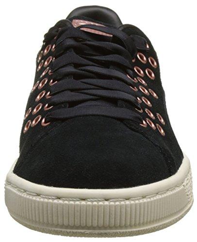 Suede Puma Femme Xl VrSneakers Noir Basses Lace Xw0OP8nk