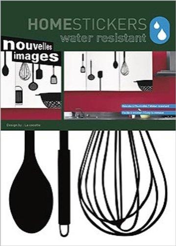Attrezzi Per Decorare Pareti.Homestickers Attrezzi Da Cucina 2 Fg Tot 8 Adesivi Water