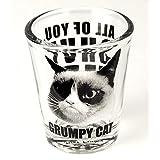 Grumpy Cat Shut Up verre à Shot