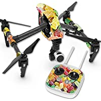 Skin For DJI Inspire 1 Quadcopter Drone – Sour Candy | MightySkins Protective, Durable, and Unique Vinyl Decal wrap cover | Easy To Apply, Remove, and Change Styles | Made in the USA