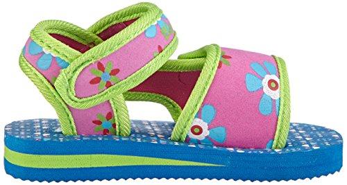 Playshoes Eva-sandale, Badesandale Blumen - Zapatos Niñas Mehrfarbig (original 900)