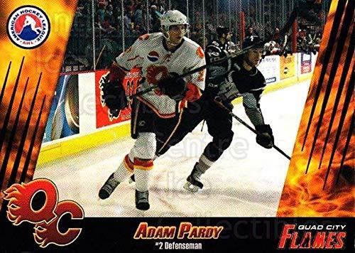 (CI) Adam Pardy Hockey Card 2007-08 Quad City Flames 11 Adam Pardy