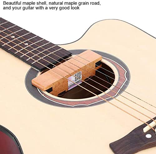 RiToEasysports - Pastilla para guitarra acústica (madera de arce ...