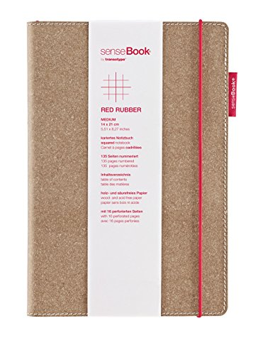 Best Buy! Copic Sensebook 6x8 Red Rubber-Square