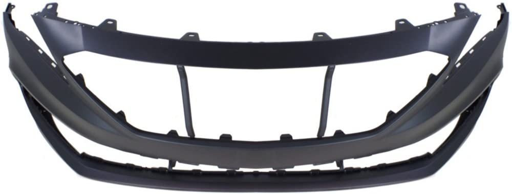 Front Bumper Cover for Hyundai Sonata 15-17 Primed Sport Type