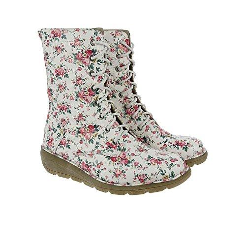 Heavenly Feet Walker2 Botas Blanco Floral Blanco Floral