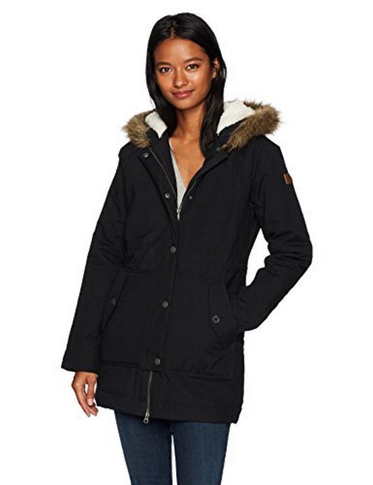 Roxy Women's Mountain Song Jacket, Anthracite ERJJK03195, L