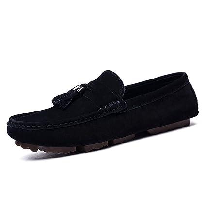 Shufang-shoes, Zapatos Mocasines para Hombre 2018 Mocasines Drive para Hombre, Mocasines de