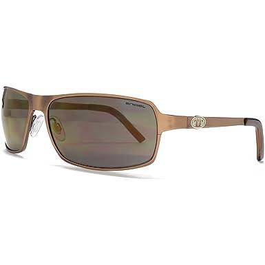 Animal Rand Flatsheet Metal Wrap Sonnenbrillen in gebürstetem helle Bronze ANI013 LkkuXMSQ