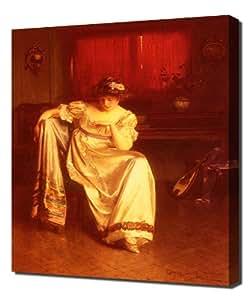 Carlton Alfred Smith - Just Engaged7 - Pintura En Lienzo - Cuadro Sobre Lienzo