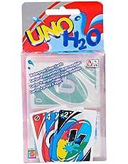 العاب طاولة والعاب بطاقات اونو من جي سول، 108 بطاقة شفافة من بلاستيك بي في سي مضادة للماء