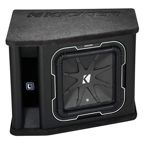 Kicker 41VL7122 12-Inch (30cm) Subwoofer in Vented Enclosure, 2-Ohm, - Speakers Kicker L7