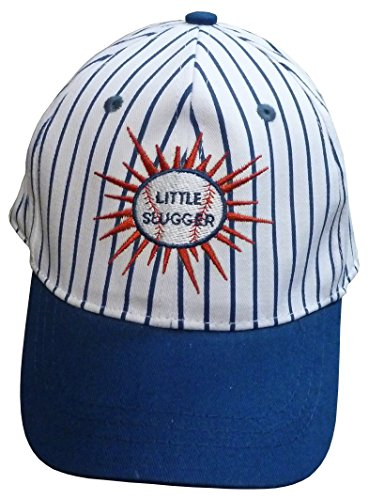 N'ice Caps Boys Authentic Little Slugger Embroidered Ball Cap (Childs Ball Cap)