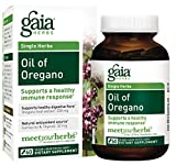 Gaia Herbs Oil of Oregano, Vegan Liquid Capsules, 60 Count – Immune and Intestinal Support for Healthy Digestive Flora For Sale