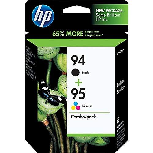 Combo Pack Tri-color and Black Ink Cartridge 95 (C9354FN#140) - Printer Hp 1610
