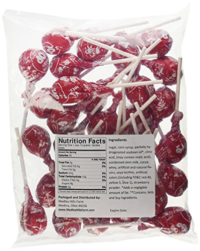 Tootsie Lollipop (Cherry Tootsie Pops 30 Pops)