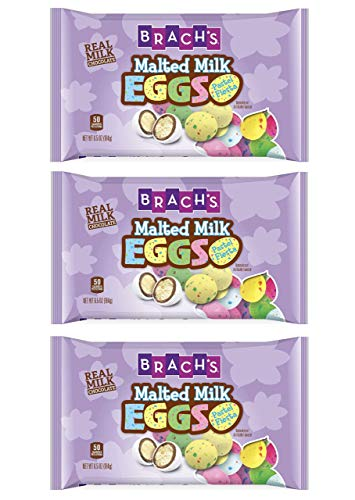 (Brach's Fiesta Pastel Malted Milk Eggs - 3 Bags )